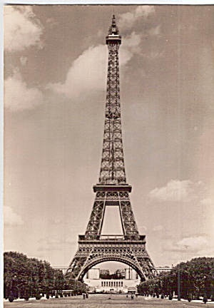 The Eiffel Tower, Paris France (Image1)