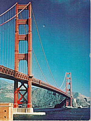 Golden Gate Bridge, San Francisco Bay, California (Image1)