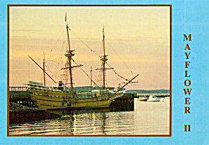 Mayflower II Plymouth Massachusetts (Image1)