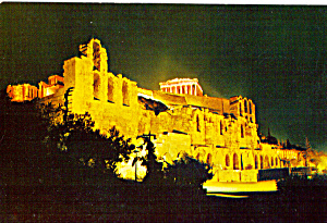 Athens, Greece, The Odeon of Herode Atticos (Image1)