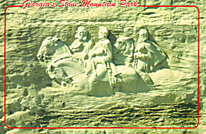 Stone Mountain Park   Georgia Postcard cs7636 (Image1)
