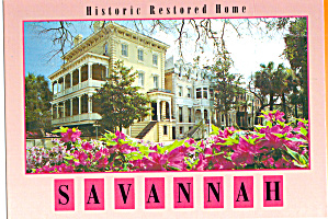Historic Restored Home  Savannah, Georgia (Image1)