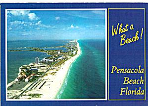 Aerial View of Pensacola Beach Florida cs7657 (Image1)