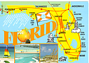 State Map of Florida  (Image1)