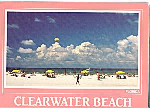 Beach and Umbrellas in Clearwater Beach Florida cs7688 (Image1)