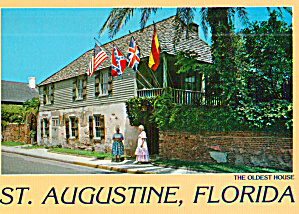 The Oldest House in St Augustine Florida cs7689 (Image1)