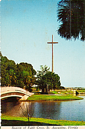 Beacon of Faith Cross,�St Augustine, Florida (Image1)