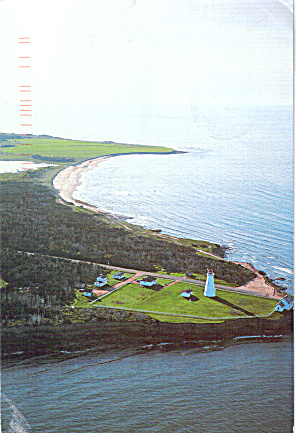 East Point Lighthouse, Prince Edward Island, Canada (Image1)