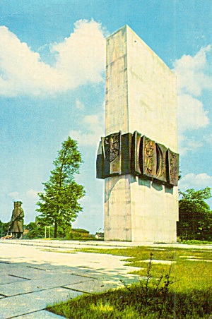 Monument in Poznan Poland (Image1)