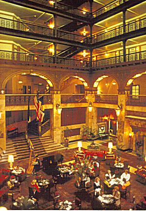 Interior of The Brown Palace Hotel Denver Colorado cs7747 (Image1)