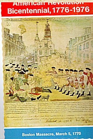 Boston Massacre from an Engraving by Paul Revere cs7749 (Image1)