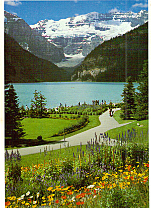 Lake Louise Banff National Park Alberta Canada Cs7773