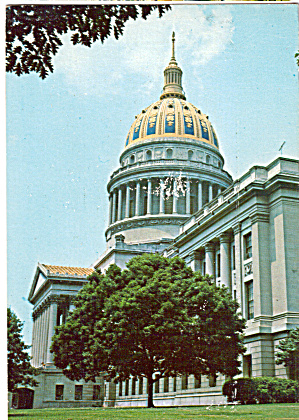 West Virginia State Capitol Charleston West Virginia Cs7780