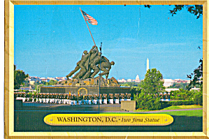 Us Marine Corps Band At Iwo Jima Memorial Washington Dc Cs7803