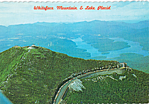 Whiteface Mt And Lake Placid Ny Cs7804
