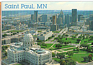 St Paul and State Capitol of Minnesota (Image1)