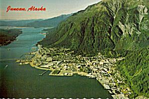 Aerial View of Juneau Alaska cs7813 (Image1)