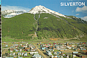 Mining Town Of Silverton Colorado Cs7820