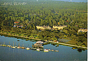 Aerial View of Jekyll Island, Georgia (Image1)