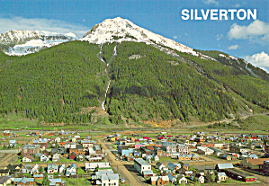 Mining Town Of Silverton Co Cs7829