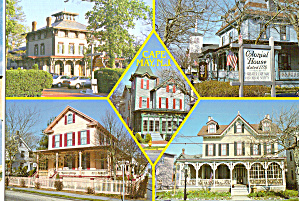 Victorian Architecture at Cape May, New Jersey (Image1)