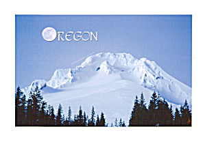 Moon Over Mount Hood Oregon Cs7844