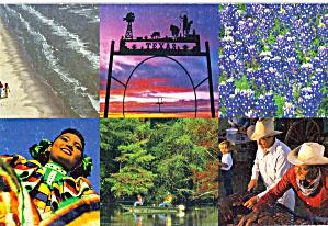 Texas Travel Guide Advertising Postcard cs7846 (Image1)