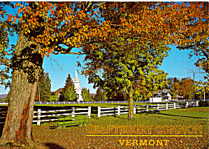 Autumn in Craftsbury Common, Vermont (Image1)
