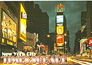 Times Square New York City at Night cs7865 (Image1)