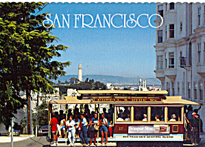 Powell and Hyde Street Cable Car,San Francisco (Image1)