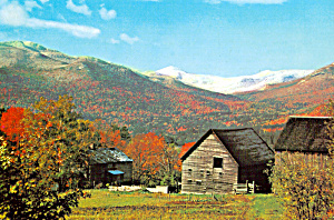 Autumn Scene, Mount Marcy, Adirondacks of New York (Image1)