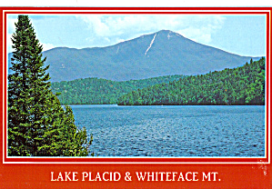 Lake Placid Visitors Guide Advertising Whiteface Mountain NY cs7894 (Image1)