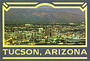 Aerial View of Tucson Arizona as Evening Descends cs7899 (Image1)