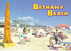 Beach Scene Bethany Beach Delaware cs7909 (Image1)
