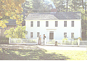 Parsonage at  Old Sturbridge Village, Massachusetts (Image1)