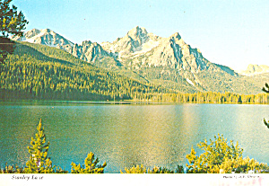 Stanley Lake in Stanley Basin, Idaho (Image1)