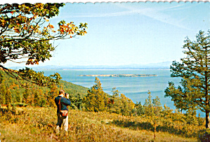 View from New York towards Schuyler Island on Lake Champlain cs7945 (Image1)