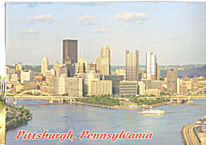 Pittsburgh Pennsylvania Point State Park and Skyline cs7951 (Image1)