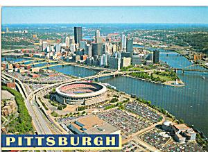 Pittsburgh  Pennsylvania Three Rivers Stadium cs7954 (Image1)