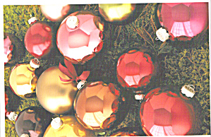 Woodland Hoiliday Glass Ornaments and Ribbon Hangers (Image1)