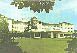 Pinehurst North Carolina Entrance Pinehurst Hotel cs7972 (Image1)