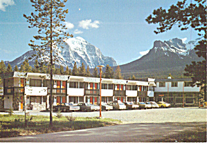 Lake Louise Alberta Canada Mountaineer Motel Cs7980