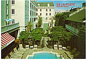 New Orleans Louisiana The De La Poste Motor Hotel cs7996 (Image1)