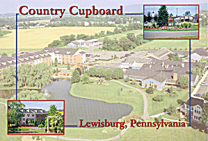 Lewisburgh Pennsylvania Country Cupboard Inn Restaurant Cs8001
