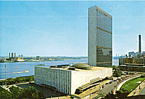 United Nations Secretariat And General Assembly Buildings Cs8013