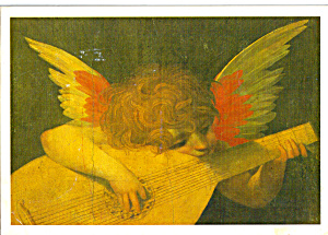 Angel Musician by Rosso Flentino Postcard cs8022 (Image1)
