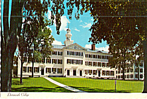 Dartmouth Hall At Dartmouth College New Hampshire Cs8023