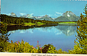 Jackson Lake and Reflection of Teton Moutains (Image1)