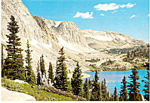 Lake Marie in Medicine Bow National Forest,Wyoming (Image1)