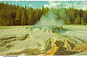 Punch Bowl Crater Yellowstone National Park Wy Cs8047